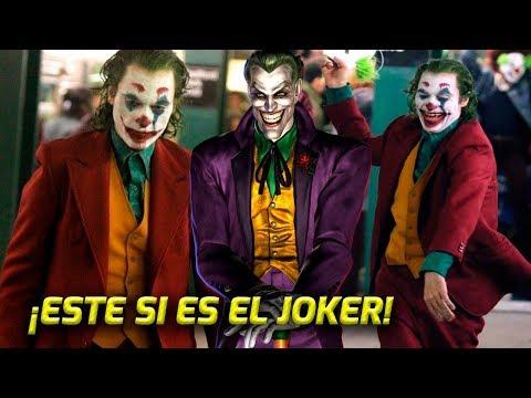 ¡INCREÍBLE! ¡ESTE SÍ ES EL JOKER! ¡Primer vistazo a Joaquin Phoenix caracterizado como el Joker!