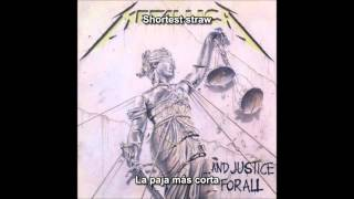 Metallica - The Shortest Straw (+Bass) [...And Justice For All Album] (Subititulos Español)