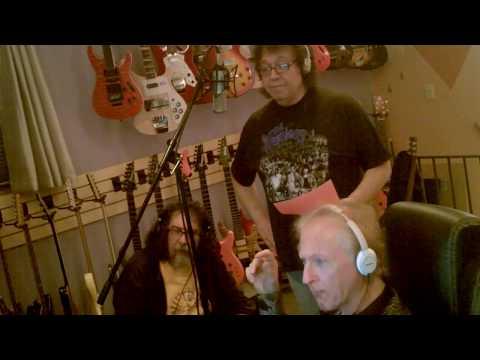 Sal Sirchia Kenny Lee & Paul DeMaira working in the studio on Magic Tonight.
