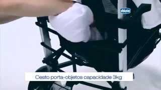 Прогулочная коляска-трость Chicco Lite Way(Стильная, ультралегкая и компактная коляска-трость с возможностью регулирования спинки одной рукой до..., 2014-08-04T08:29:10.000Z)