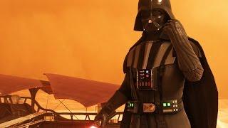 Star Wars Battlefront Hero Battles Mode - Tatooine Darth Vader Gameplay