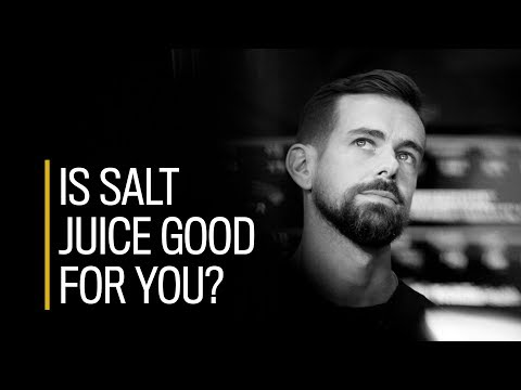 Is Twitter CEO's daily 'salt juice' good for you?