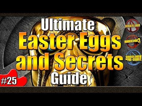 Borderlands | Ultimate Easter Egg and Secrets Guide | #25 | Brian Collins | Hamlet | HAL9000