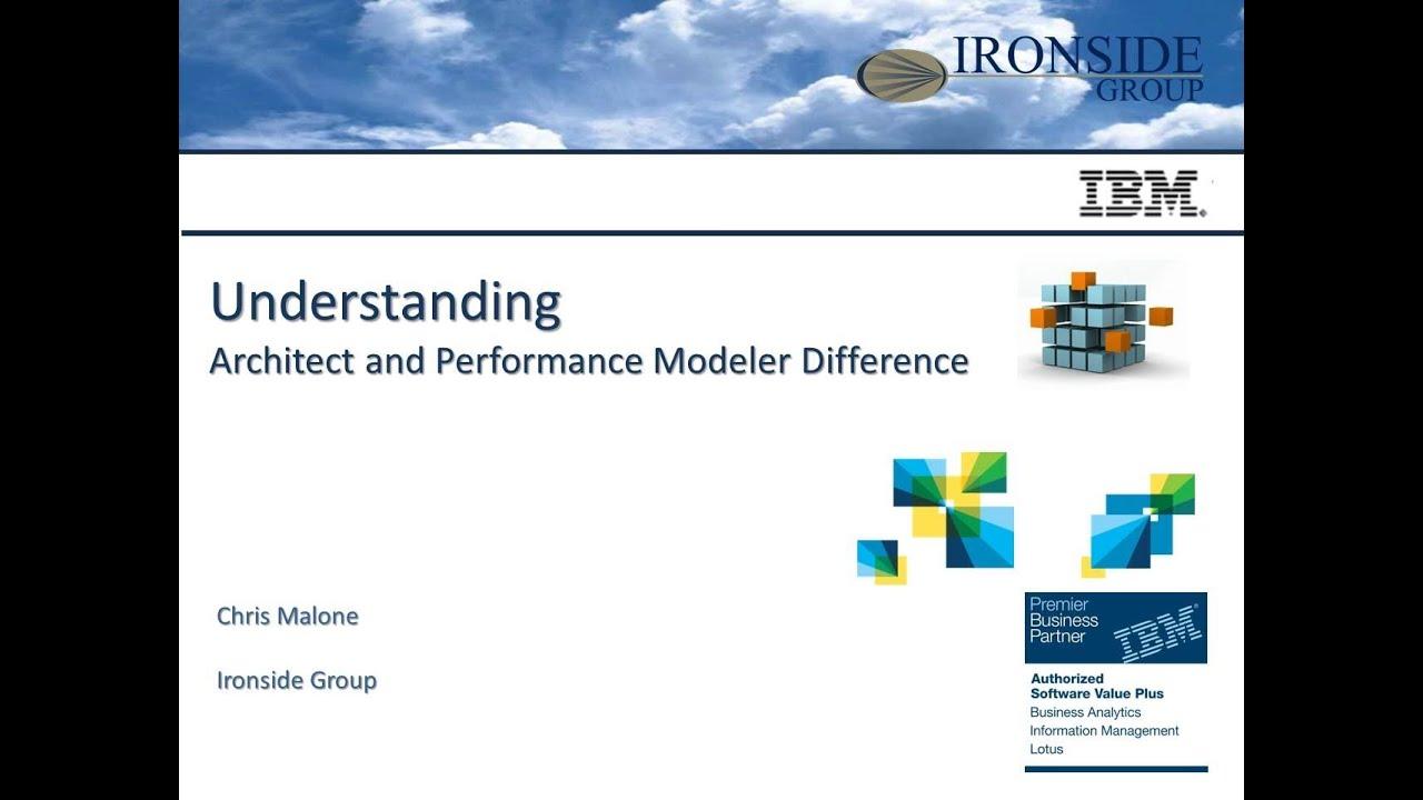 TM1 Performance Modeler and Architect Comparison- Webinar