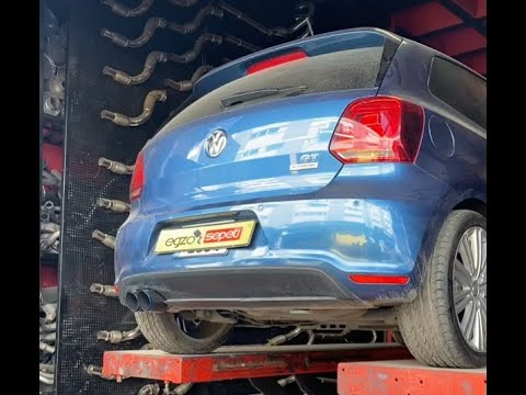 VW POLO GT 1.4 TSİ KUMANDALI VAREX EGZOZ SESİ