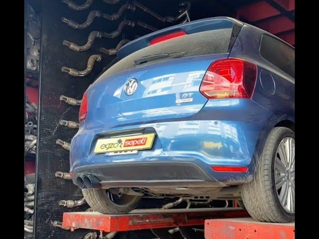 VW POLO 1.4 GT KUMANDALI EGZOZ SESİ