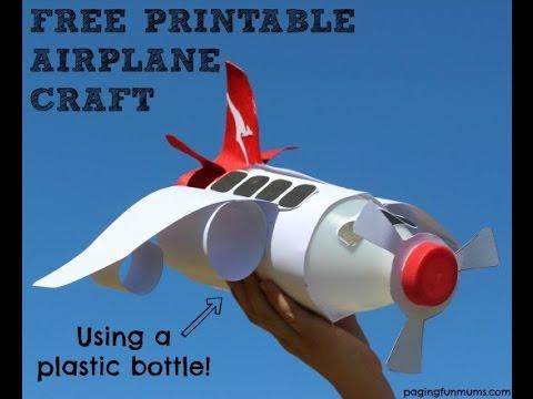 airplane craft youtube