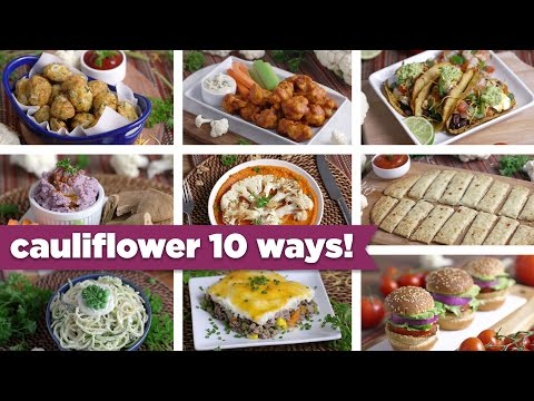 Cauliflower 10 Crazy Ways! Easy Healthy Recipes + FREE eBook! – Mind Over Munch