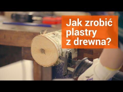 Jak Zrobić Plastry Z Drewna Podkładki Na Stół Ogrodowy