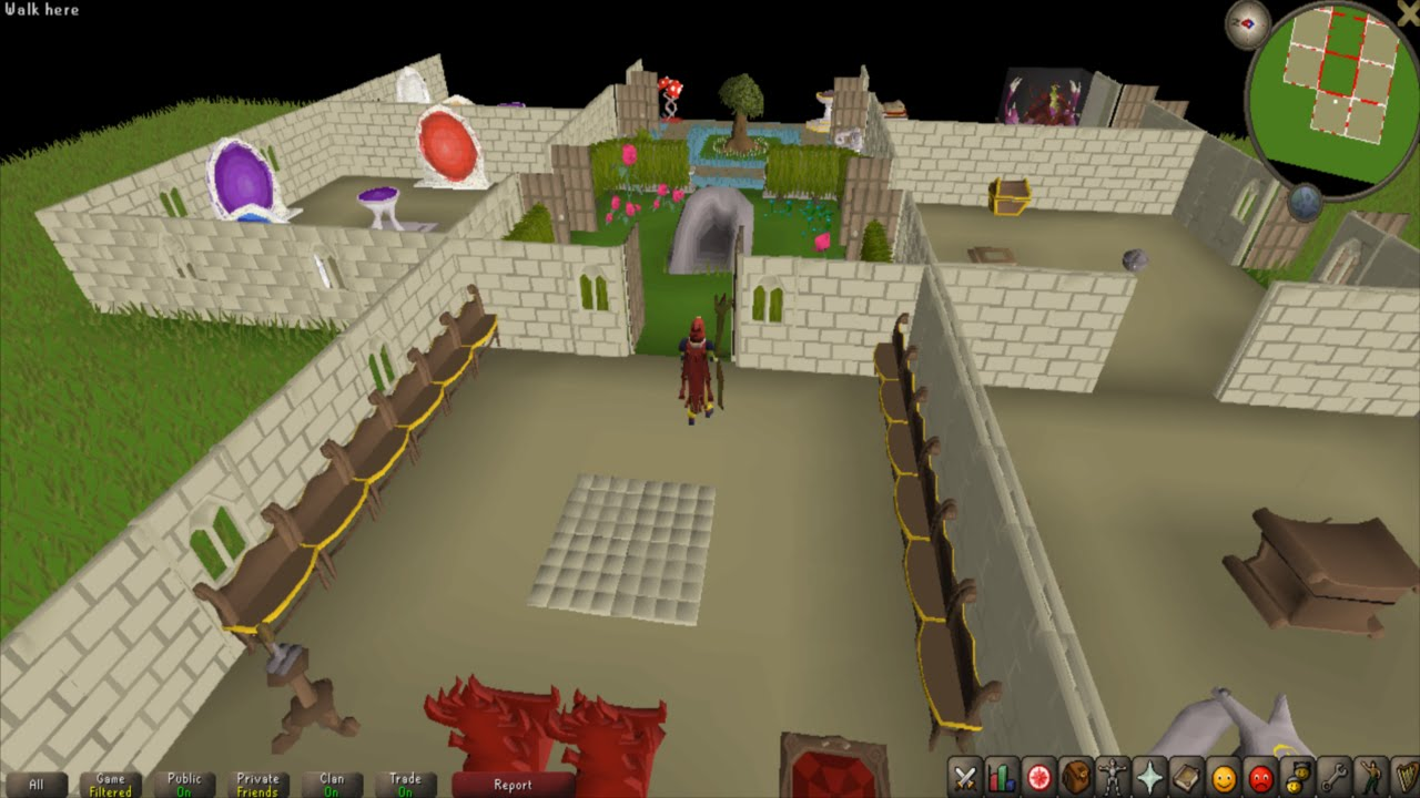 Runescape How To Remove Rooms In Your House