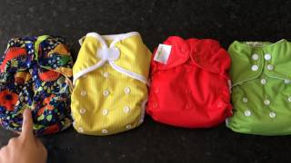 All-in-One Cloth Nappy Trial Pack at Darlings Downunder