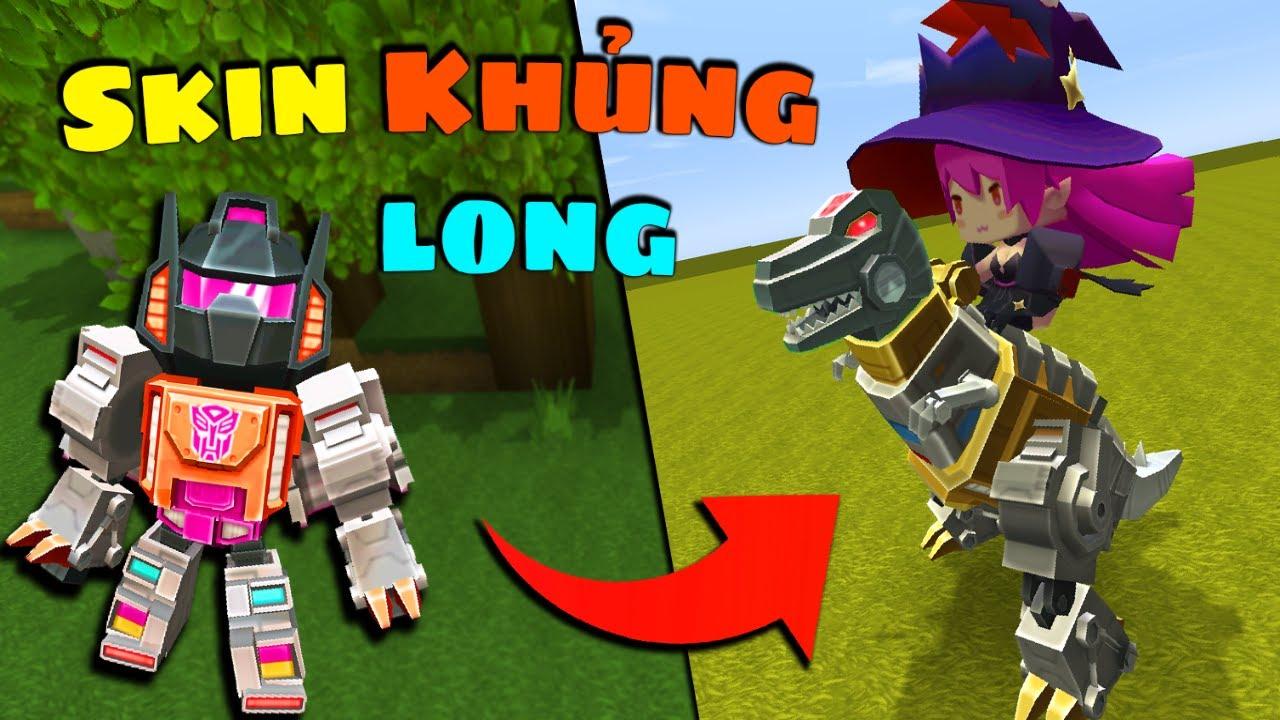 Mini World : Skin Khủng long Grimlock - Tải Mod miễn phí 0.46