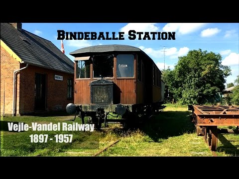 Bindeballe Station Vejle Vandel Danish Railway Station