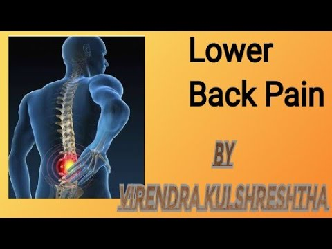 lower back pain relief mantrasvirendra kulshreshtha