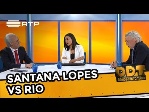 Santana Lopes VS Rio | Donos Disto Tudo | RTP