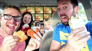 Letting Person in Front of Me Decide What I Eat! (LUNCH Edition!) / The Beach House