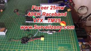 mini review with wiring instructions foxeer tm25 25mw 5 8g 40ch mini vtx with race band