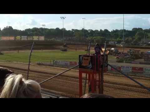 World of Outlaws Qualifying Part 2/2  Lawrenceburg Speedway