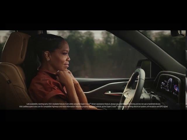 Christmas Car Commercial 2021 2021 Cadillac Escalade With Regina King Commercial Ad Tvc Iklan Tv Cf United States Youtube