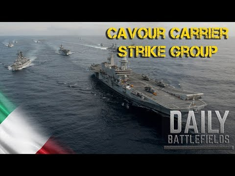 Cavour Carrier Strike Group Composition