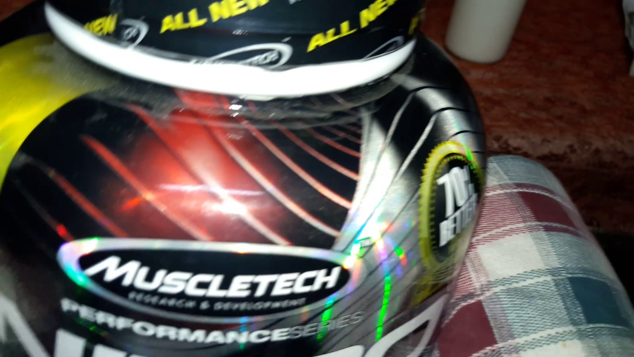 Unpackaging Of Muscletech Nitrotech 4lbs Youtube Performance Series 4 Lbs