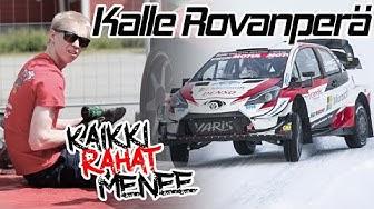 #KaikkiRahatMenee Podcast #4 Kalle Rovanperä | WRC driver