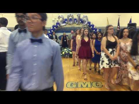 Sayreville Middle School 2019 8th grade promotion