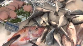 Paris Food - Vincennes Markets Seafood Stall - Fruits de Mer of France