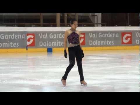 Tiffany Yong Yeu Lau HKG Val Gardena spring trophy 2013 junior ladies free