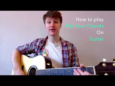 Guitar Lesson: How to Play THE FOUR CHORDS in EVERY KEY