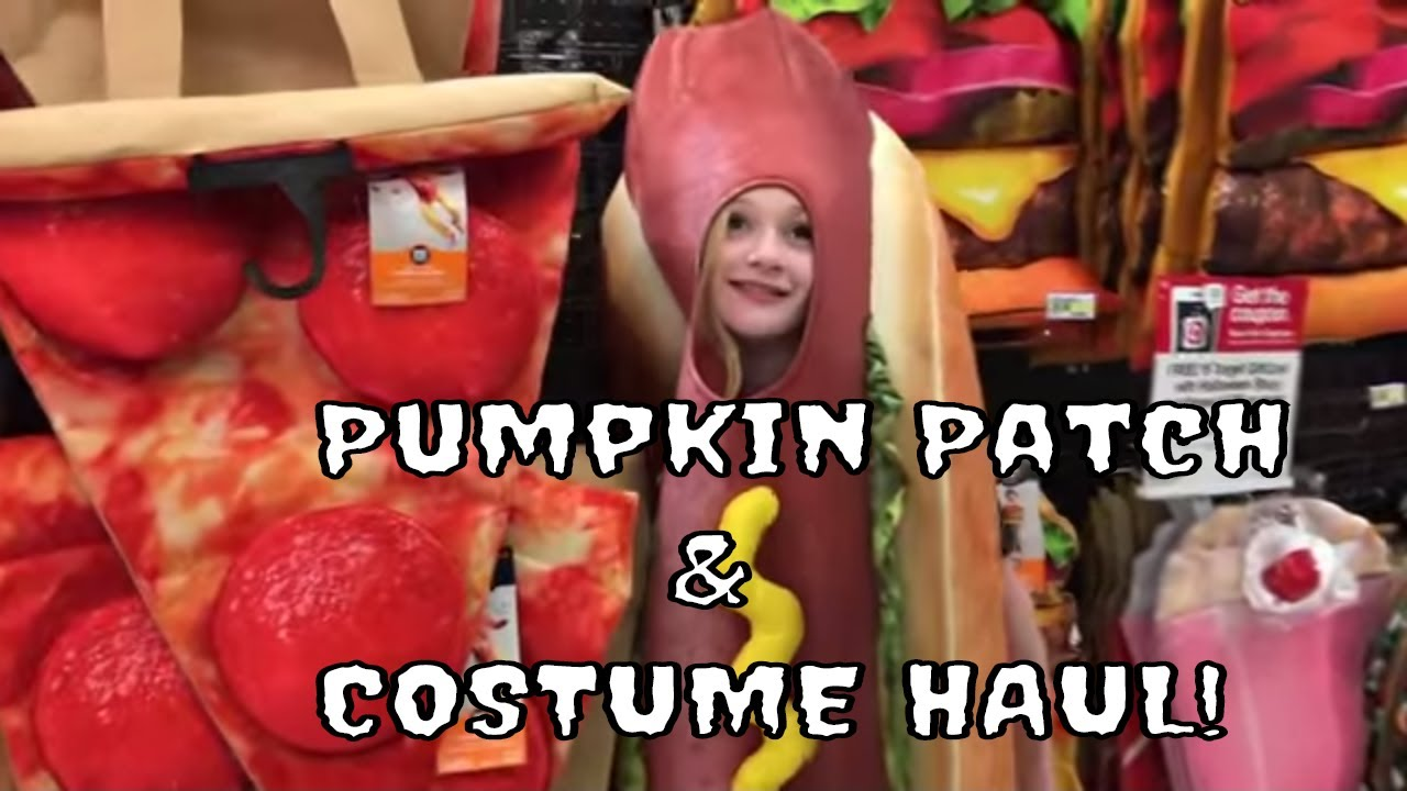 Pumpkin Patch and Halloween Costume Haul with Princess Ella and Playdoh Girl  sc 1 st  YouTube & Pumpkin Patch and Halloween Costume Haul with Princess Ella and ...