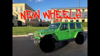 Mojito Jeep Gets New Wheels - How Big Did We Go?