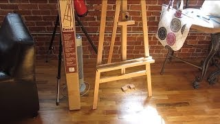 Easel Assembly In Hd Part 1 - The Main Frame And Misc Tips