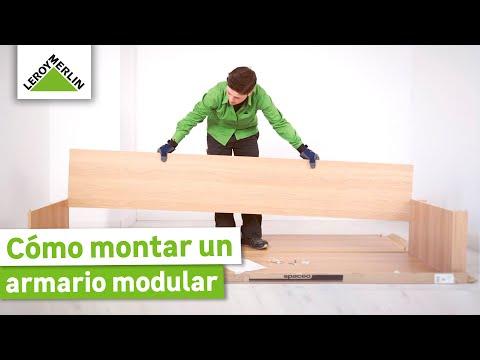 Cómo Montar Un Armario Modular Leroy Merlin Youtube