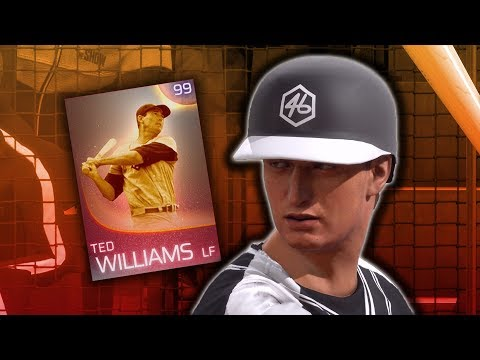 IMMORTAL Ted Williams Debut! MLB The Show 18 Diamond Dynasty