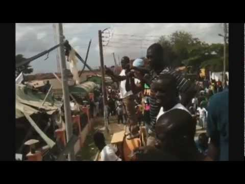 Ghana department store collapses in Accra