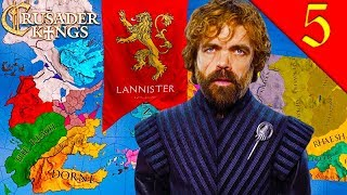 HAIL KING TYRION KING UPON THE IRON THRONE Crusader Kings 2 Game of Thrones House Lannister 5