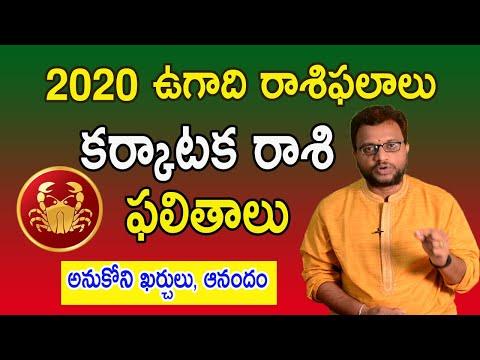 Ugadi Karkataka Rasi Phalalu 2020   Cancer Horoscope   Ch Nagaraj   రాశి ఫలితాలు    99Telugu bhakti