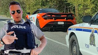 POLICE PULL OVER THE WRONG SUPERCAR OWNER... *CONFRONTATIONAL*