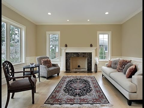 appealing living room persian carpet | Fireplace Room And Persian Rug As A Floor Makeover - YouTube