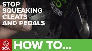 How To Stop Squeaking Cleats And Pedals