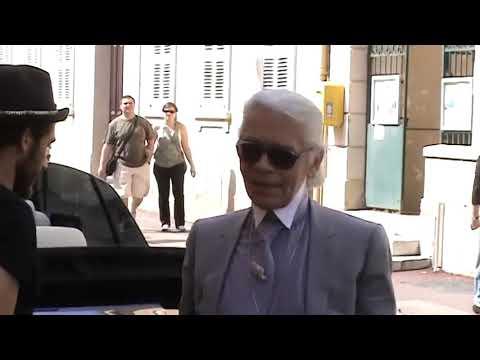 Karl Lagerfeld In Saint Tropez Mai., 2010