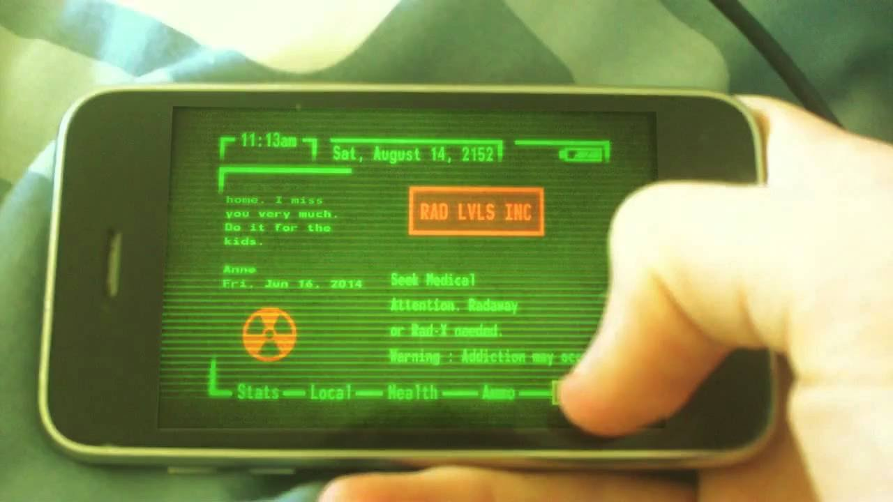 android pip boy app doesnt work
