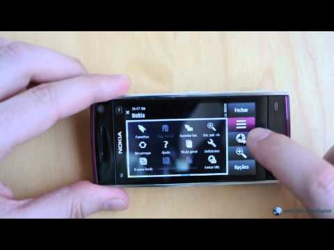 Nokia X6-00 16GB: Interface - Parte 1