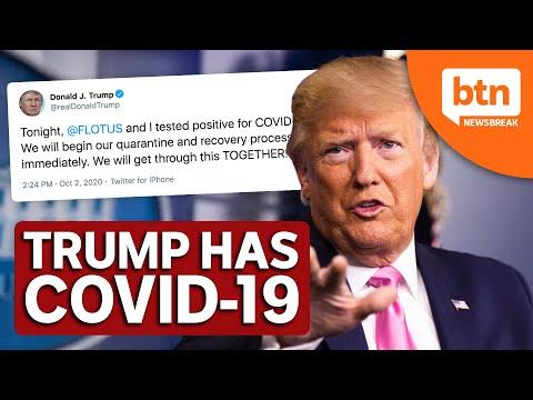 Us President Trump Has Covid 19 Youtube