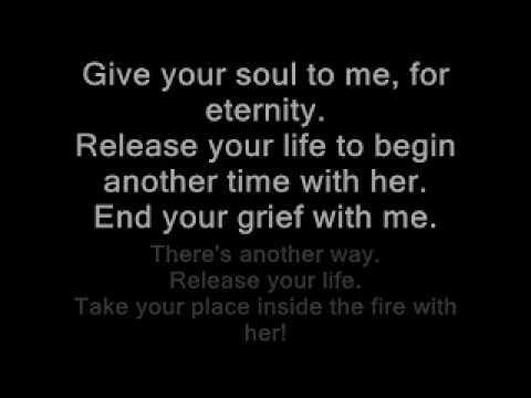 Disturbed Inside The Fire (lyrics)