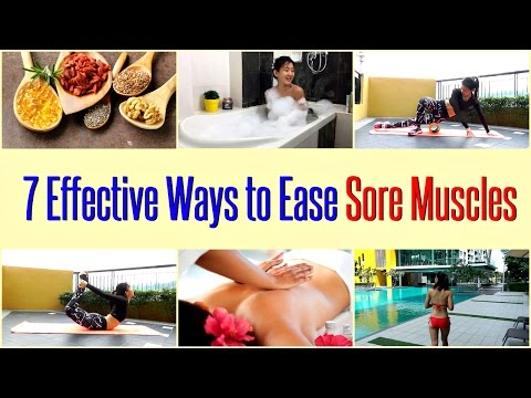 7 Effective Ways to Ease Sore Muscles (DOMS)