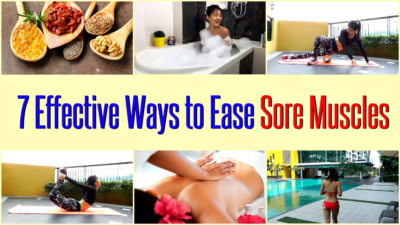 Watch How To Heal Sore Muscles Fast video