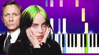 Billie Eilish - No Time To Die (Piano Tutorial)
