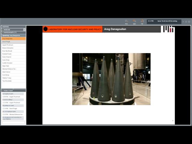 Areg Danagoulian: Warhead Verification Using Physically Encrypted Data